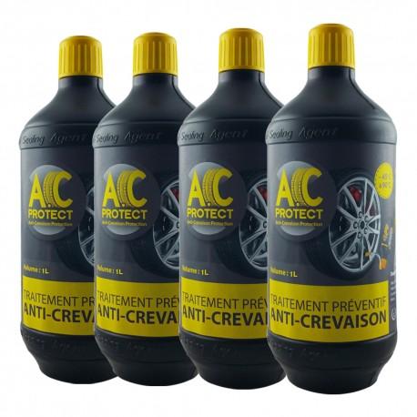 Pack 4 roues type SUV et 4x4 -  soit 4 bouteilles d'A.C Protect 1L