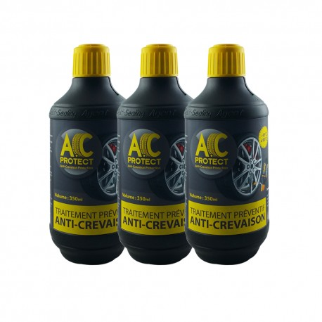 Pack 3 roues type vélo - scooter - moto soit 3 bouteilles d'A.C Protect 350ml